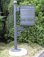 Košara za smeće barokna tip III